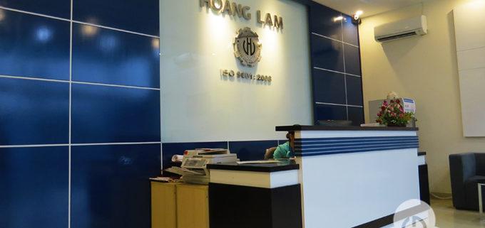 Thiết kế thi công nội thất văn phòng Hoàng Lâm